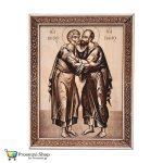 Απόστολοι Πέτρος και Παύλος (ξύλινη εικόνα)