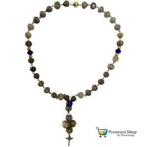 Κομποσχοίνι 33άρι Δάκρυα Παναγίας (με Εσταυρωμένο)