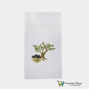 Θήκη για Λάδι (Χρυσοκέντητη Βαμβακερή 100%)
