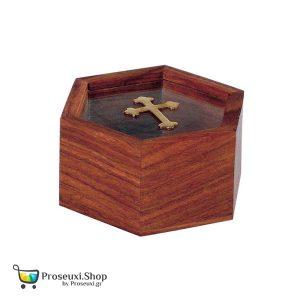 Κουτί για λιβάνι ή θυμίαμα με Σταυρό