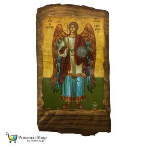 Εικόνα Αρχάγγελος Μιχαήλ (Φυσικό ξύλο)
