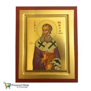 Εικόνα Άγιος Αθανάσιος ο Μέγας (χειροποίητη)