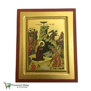 Εικόνα Γέννηση του Χριστού (χειροποίητη)