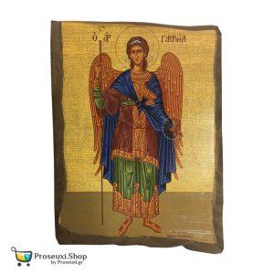 Εικόνα Αρχάγγελος Γαβριήλ (Φυσικό ξύλο)