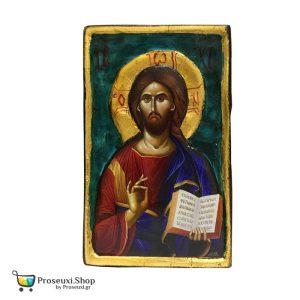 Σκαλιστή Εικόνα Χριστού (χειροποίητη)