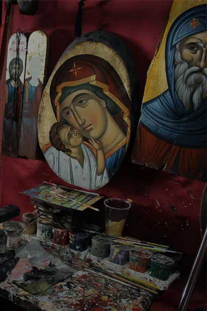 Μοναστηριακές Εικόνες