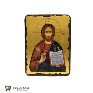 Εικόνα Χριστού (Ιησούς Χριστός Ευλογών) - Μεσαία