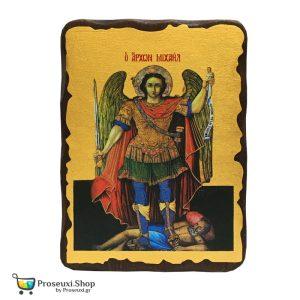Αρχάγγελος Μιχαήλ Θαρρίου (Χειροποίητη Εικόνα)