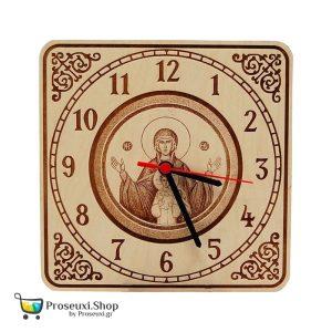 Ρολόι τοίχου Παναγία Πλατυτέρα
