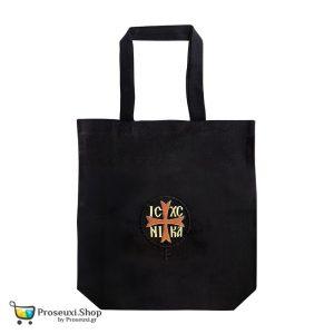 Τσάντα ώμου με κέντημα