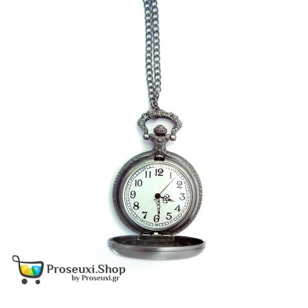 Ρολόι τσέπης με αλυσίδα (Παναγία)