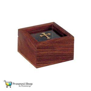 Κουτί για θυμίαμα ή Λείψανο με Σταυρό